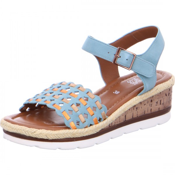 Wedge sandals Cadiz ambra