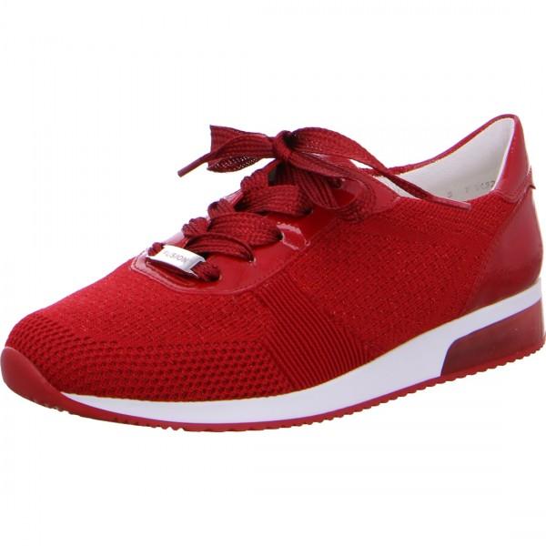 Sneaker Lissabon rot-metallic