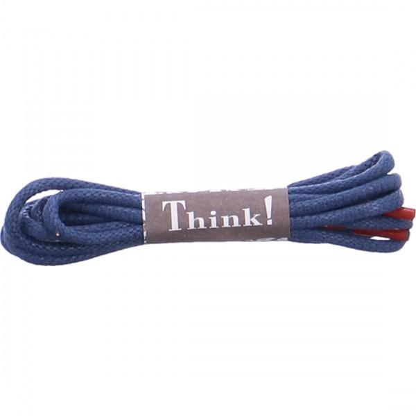 Think Schnürsenkel blau