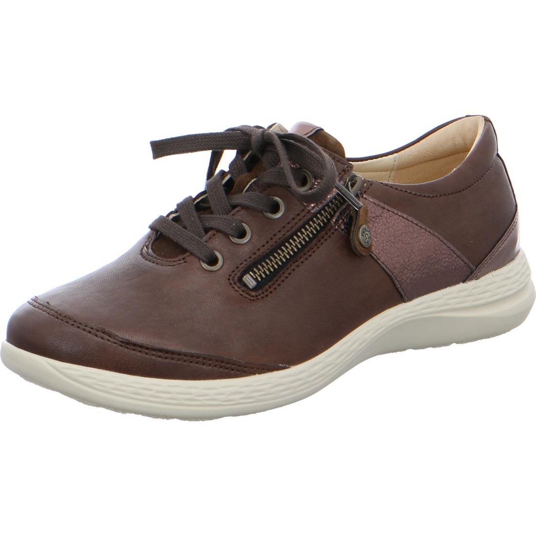 Fidelio Hallux Schuhe Schnürer u Reißverschluss Damen Leder