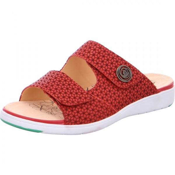 Pantolette Gina red