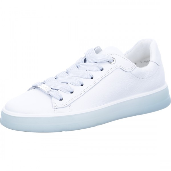 Sneaker Frisco wit aqua