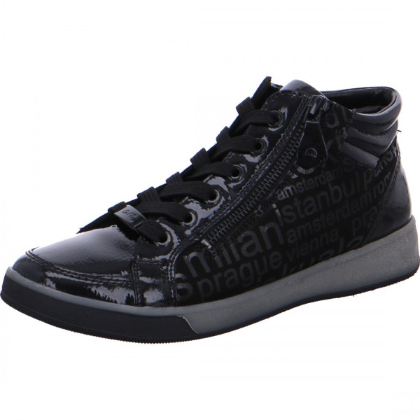 Hightop sneaker Rom zwart