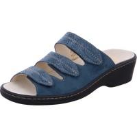 Pantolette Gerti blau