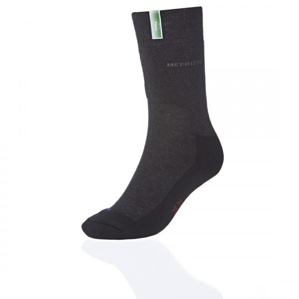 Mephisto trekking socks black
