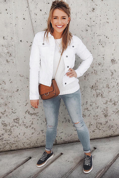 Trendfarbe  Weiß
