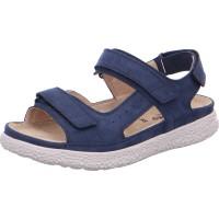Sandalette Groove marineblau
