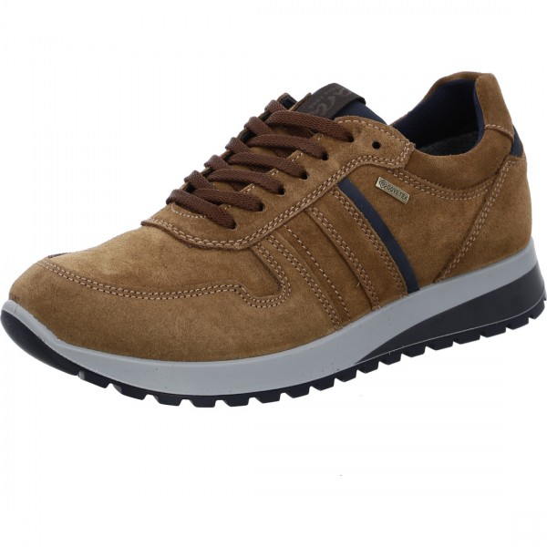 Sneakers Matteo cuoio blue