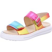 Damen Sandale Courtyard rainbow