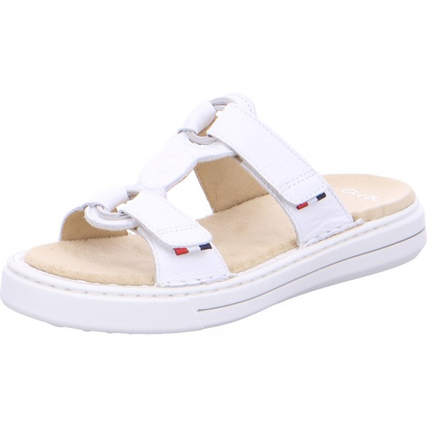 Mules Courtyard blanches