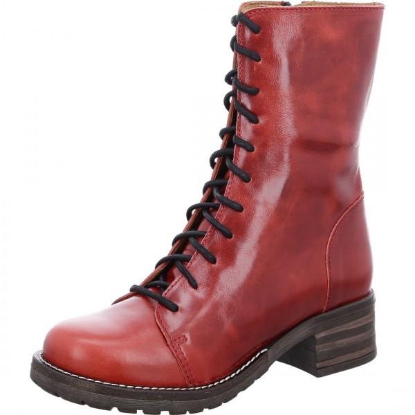 Stiefeletten Military rojo