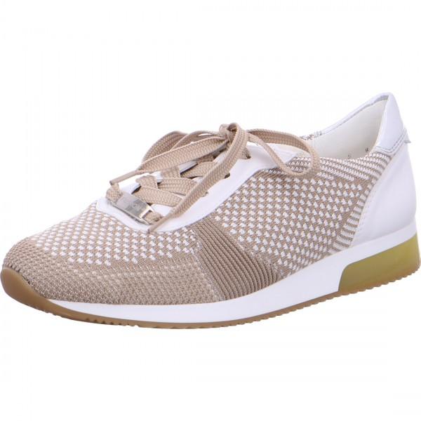 Sneaker Lissabon beige-white-silver