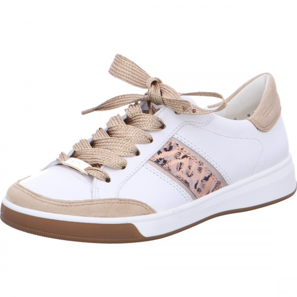 Lace-ups Rom white camel