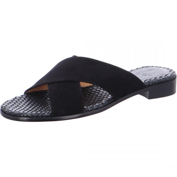 Pantolette Maghrebiner schwarz