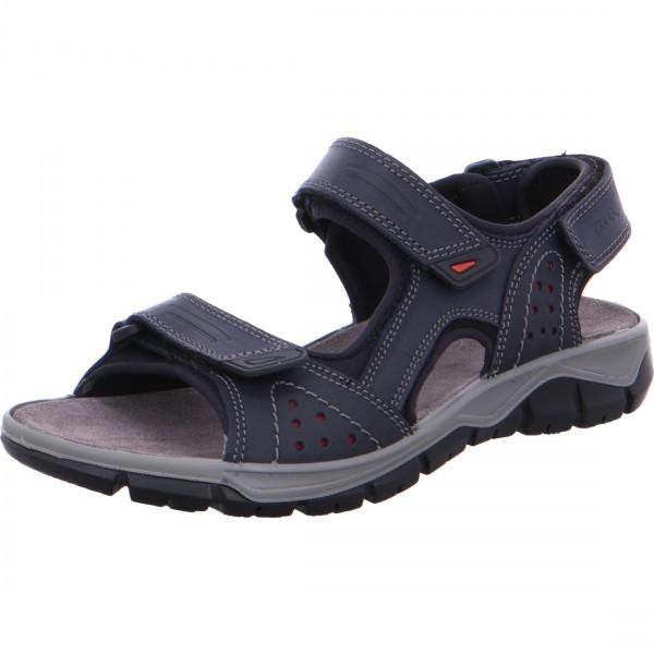 Sandale Lucca bleu rosso