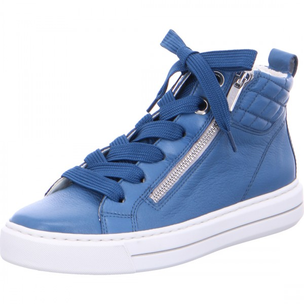 Bottines Courtyard bleu capri