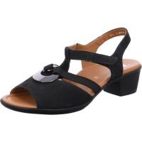 Damen Sandalette Lugano schwarz