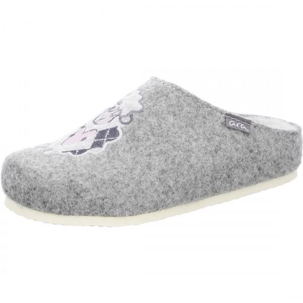 Pantoffel Cosy grijs