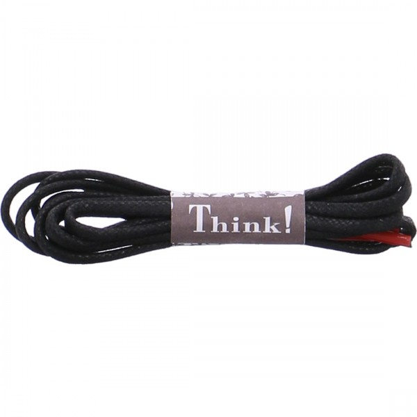 Think shoelace black