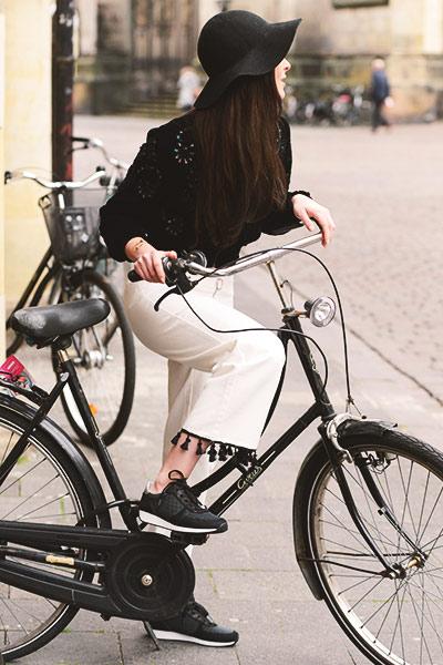 Auf Tour mit dem  Fahrrad