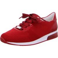Damen Sneaker Lissabon rot-metallic