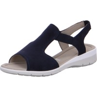 Damen Sandalette Lido blau