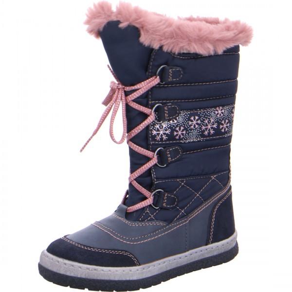 Winterstiefel Alpy-Tex blau rosa
