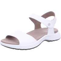 Damen Sandalette Panama weiß