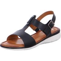 Damen Sandalette Kreta schwarz