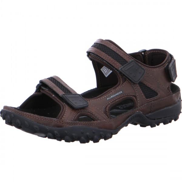 Allrounder sandales Regent marron