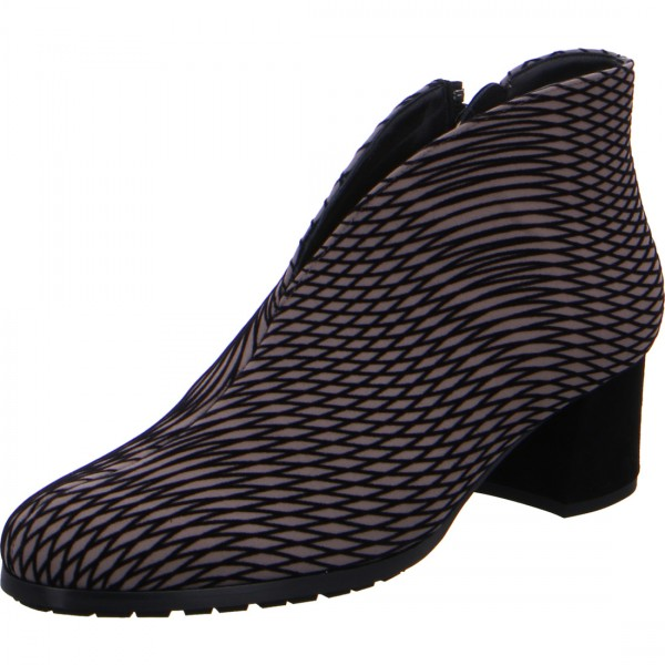 Stiefelette Turin grau-schwarz