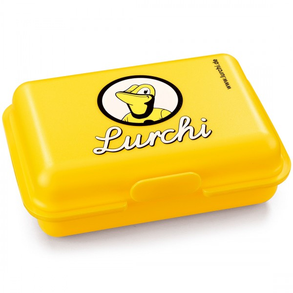Lurchi Kinderbrotdose Gelb