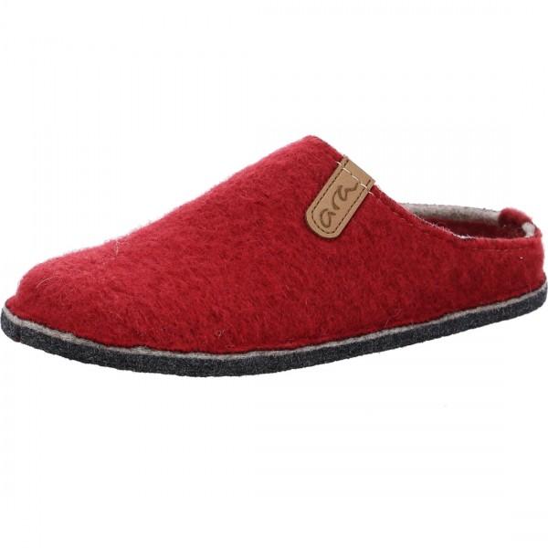 Pantoffel Cosy rood