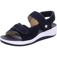 Damen Sandale Napoli blau