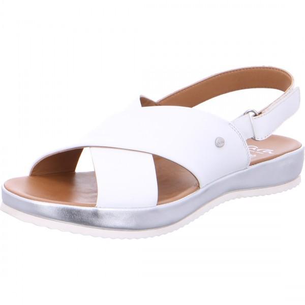 Sandals Dubai white
