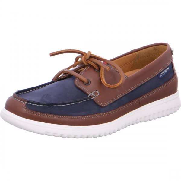 Mephisto lace-up Trevis navy