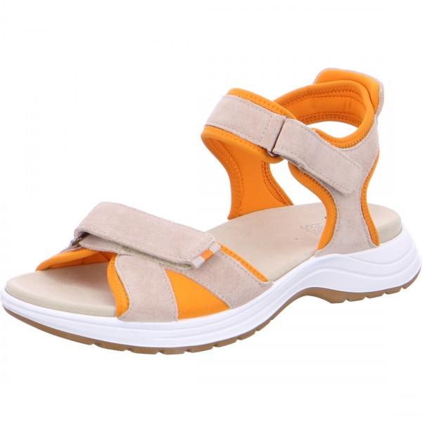 Sandales Panama beige-orange