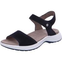 Damen Sandalette Panama blau
