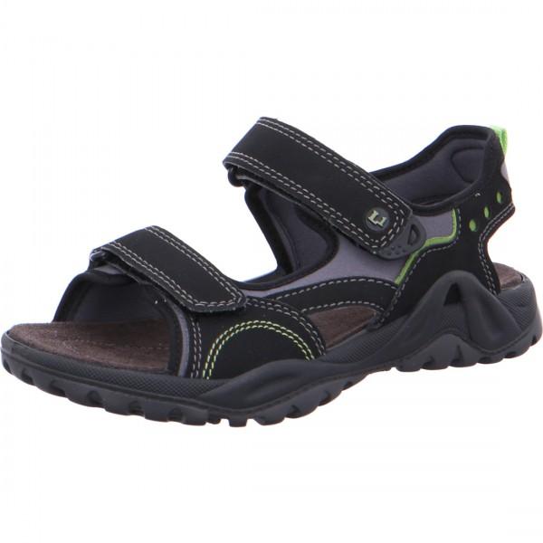 Jungen Sandale MANNI schwarz
