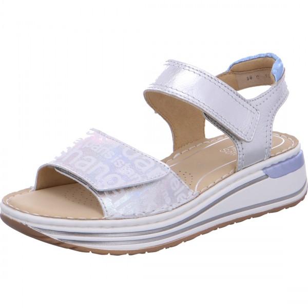 Damen Sandalette Sapporo silber