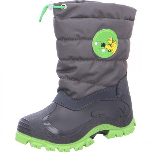 Jungen Schneestiefel FORBY grau grün
