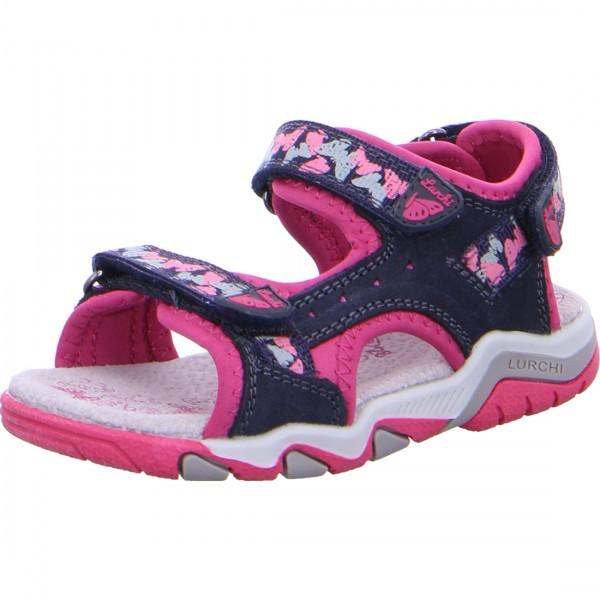 Mädchen Sandale BRIAN navy-pink