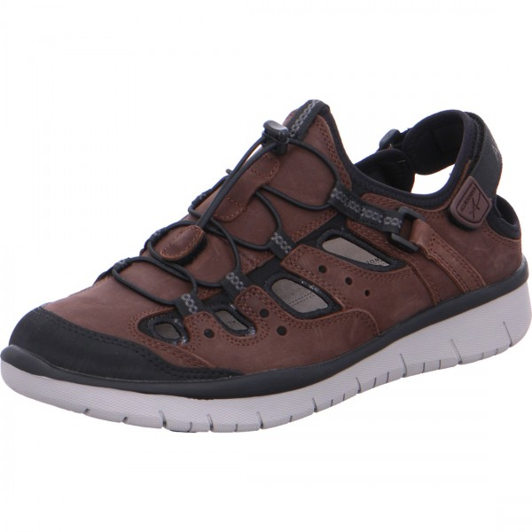 Allrounder loafer Maroon coffee