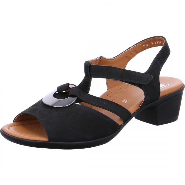 Sandalette Lugano schwarz