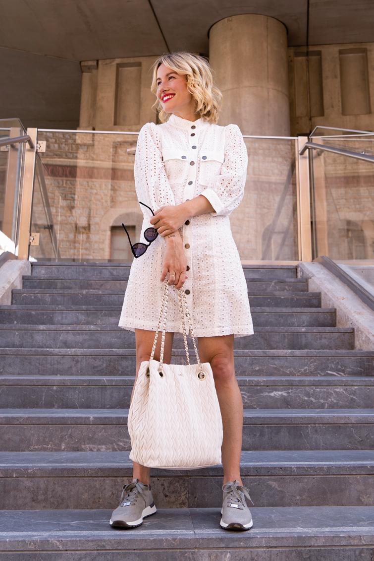 Un classique impeccable - La petite robe blanche