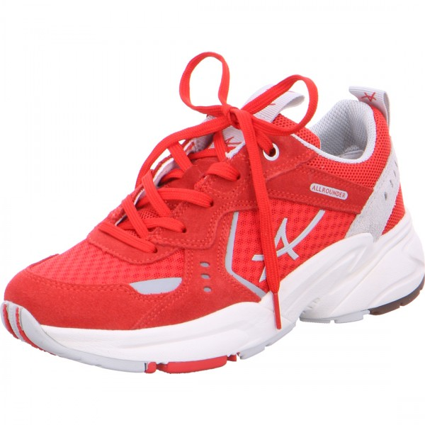Allrounder lace-up Dynamic red