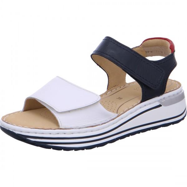 ara sandales Sapporo blanc bleu noir