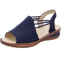 Damen Sandale Hawaii blau
