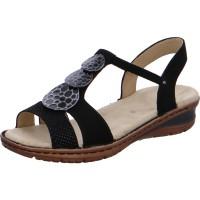 Damen Sandale Hawaii schwarz