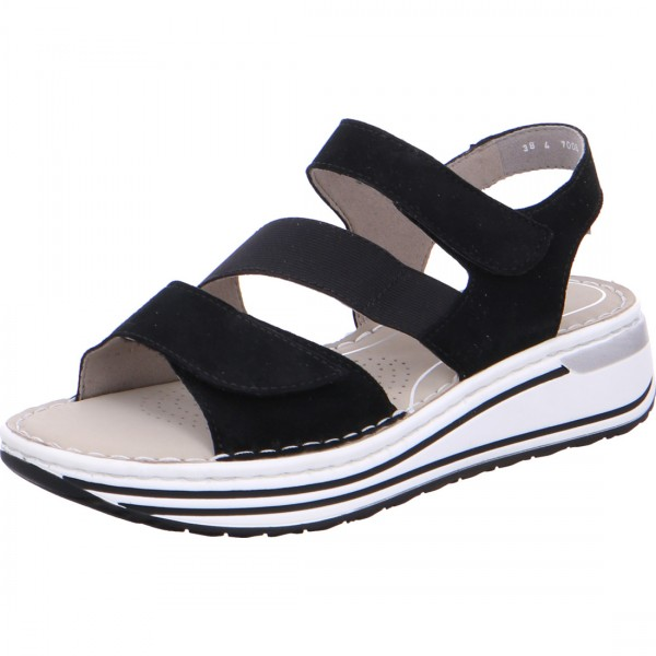 Damen Sandalette Sapporo schwarz